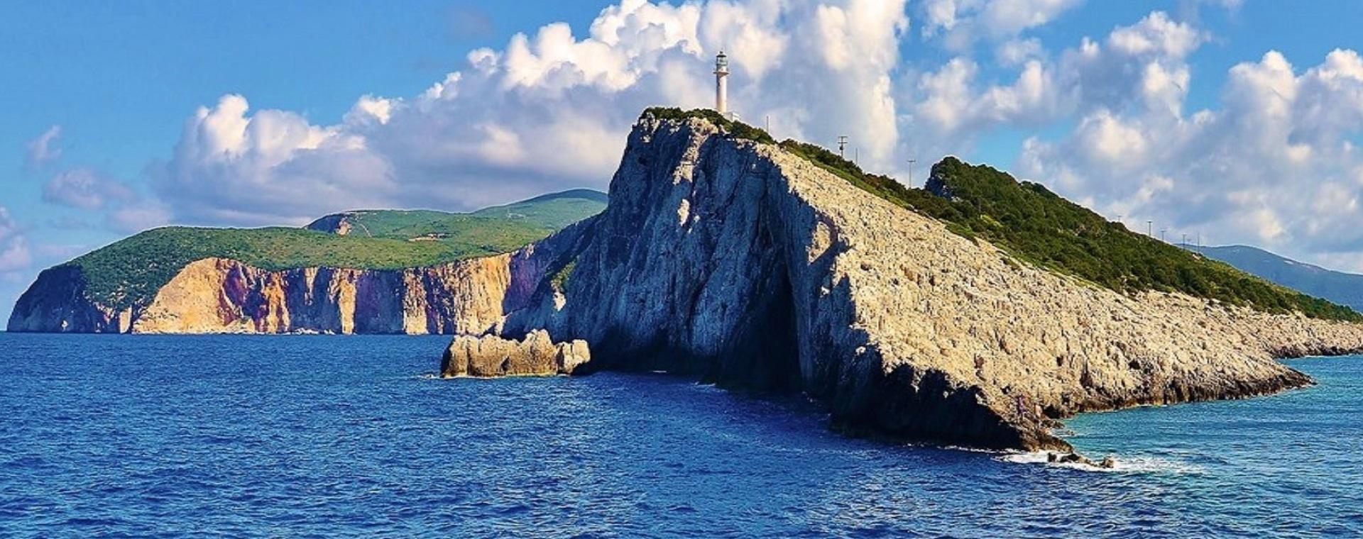 Каяк обиколка около островите Меганиси, Кастос и Каламос
